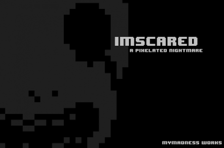 imscared a pixelated nightmare cover