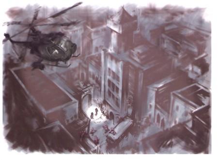 концепт арт к Resident Evil 5